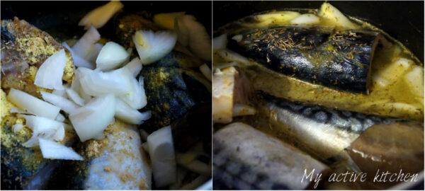 mackerel fish in a pot