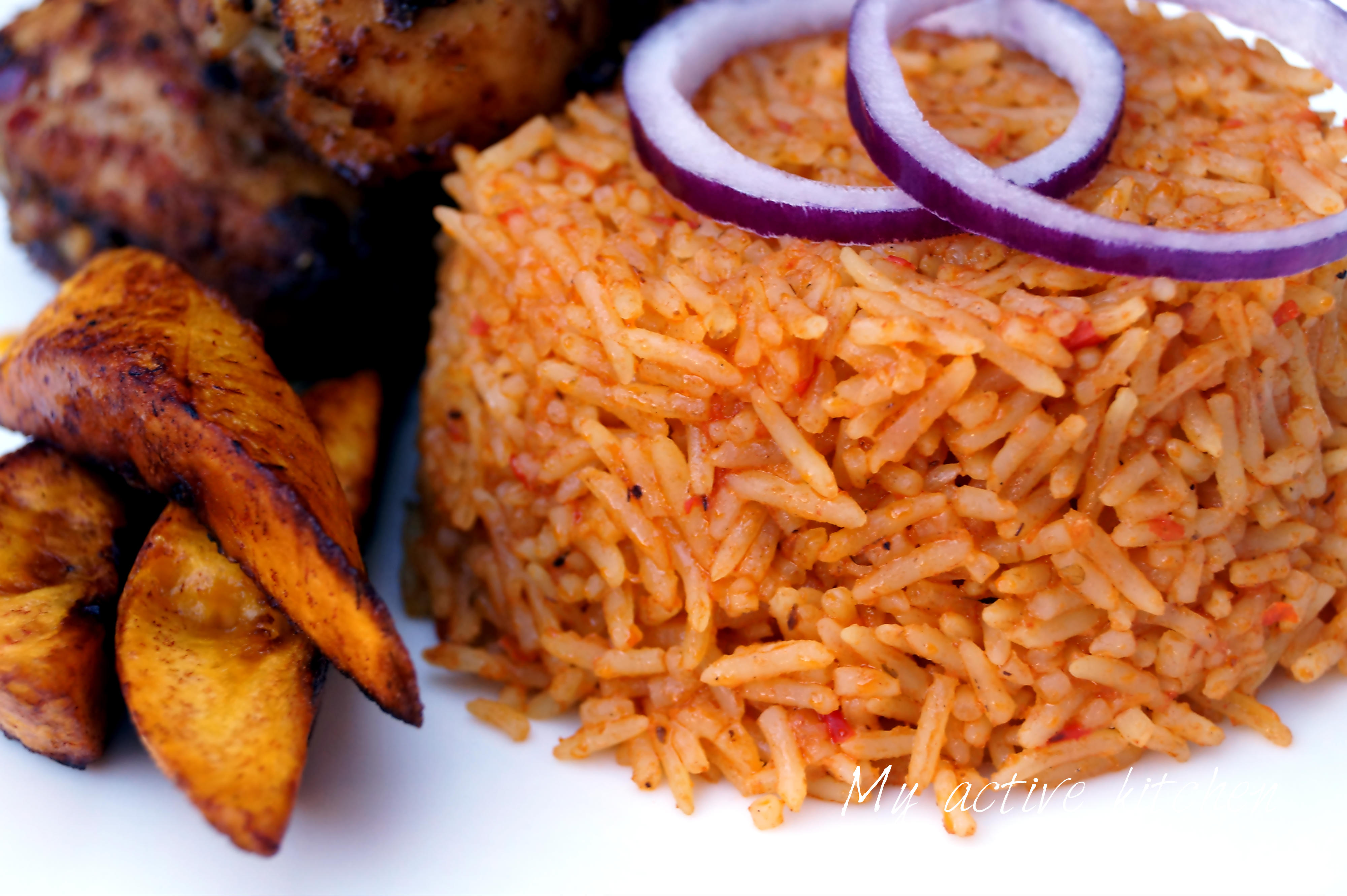 how to prepare jollof rice with chicken