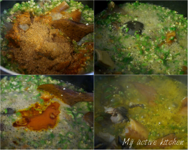 how to make okro soup.