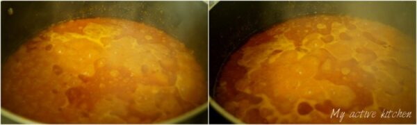 nigerian stew being cooked in a pot