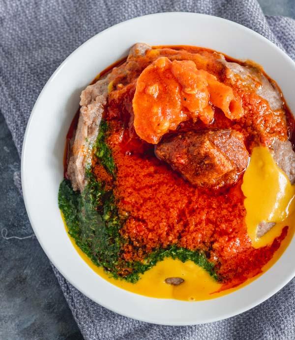 Gbegiri - Abula (How to make Gbegiri) - My Active Kitchen