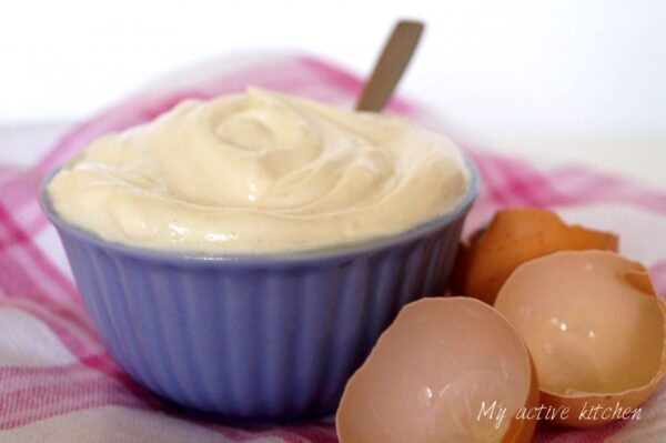 homemade mayonnaise.