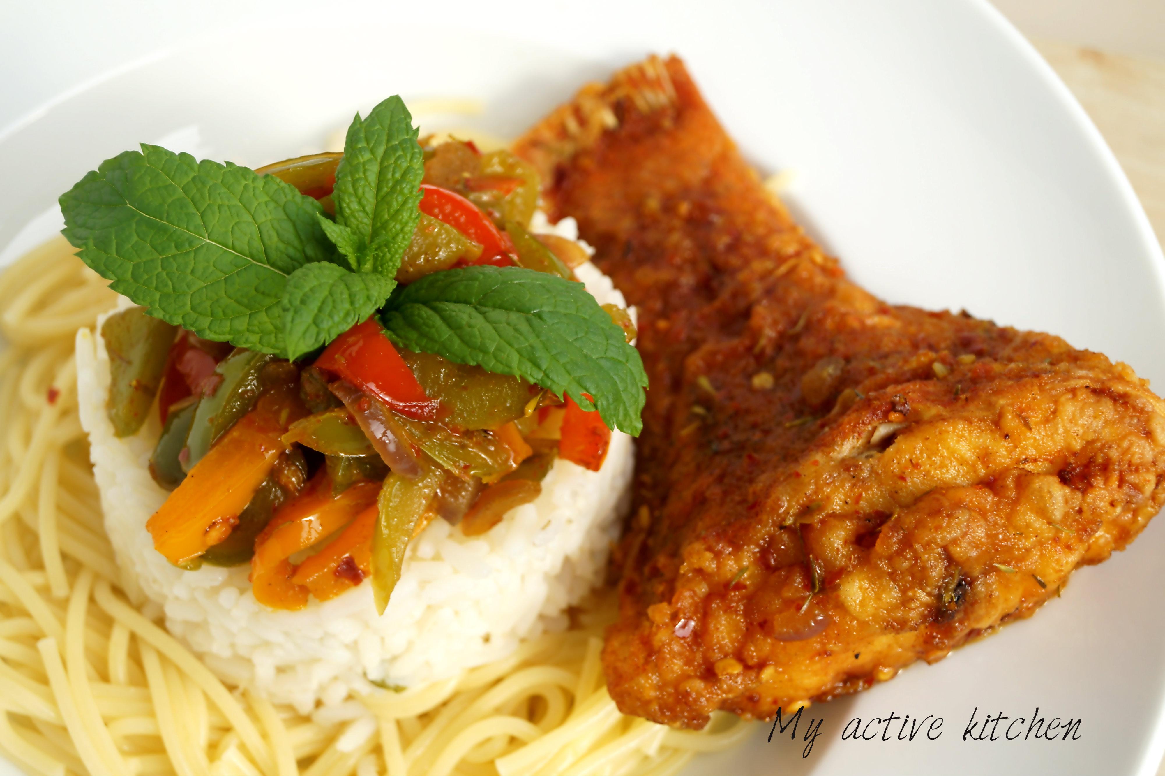 nigerian stir fry recipe