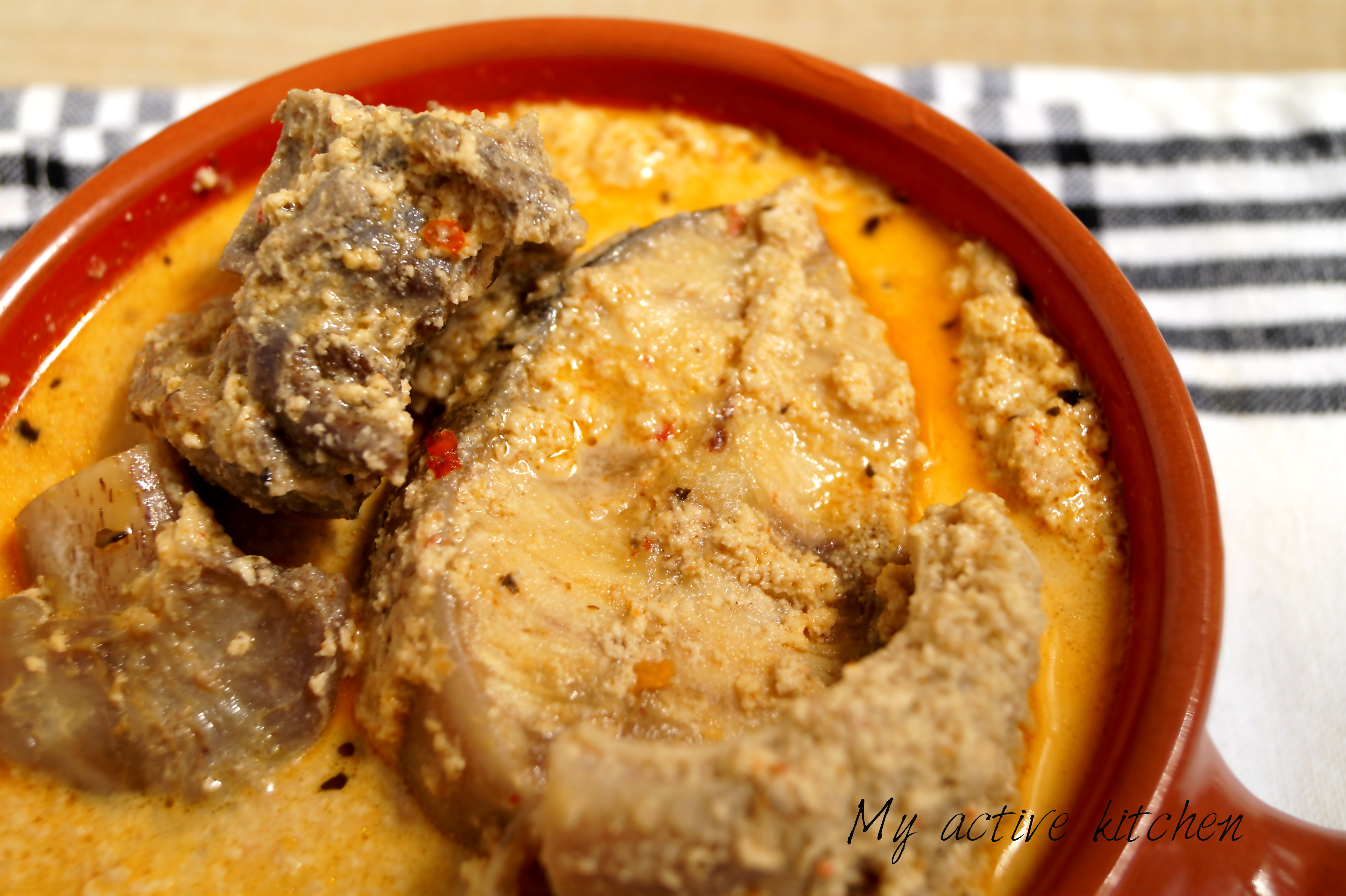 egusi pepper soup my active kitchen