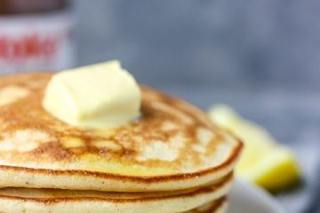 image of stacks of hot cake