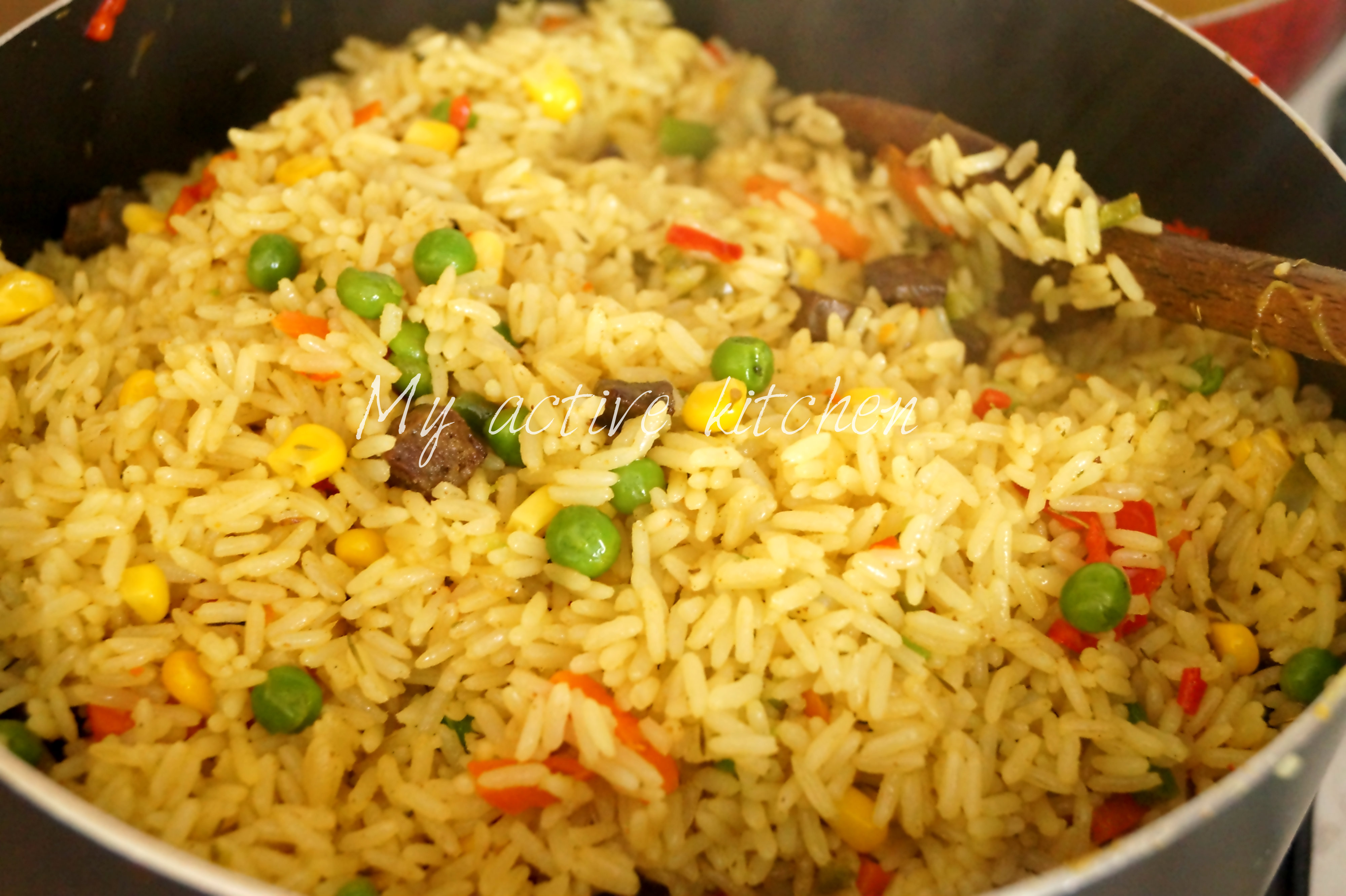 Coconut fried rice my active kitchen ccuart Images