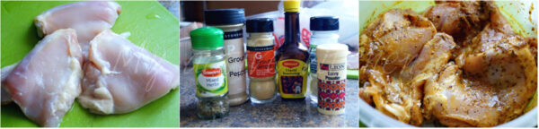 ingredient collage.