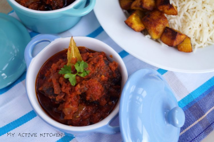 Nigerian fried stew recipe