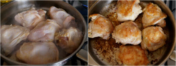 searing poultry