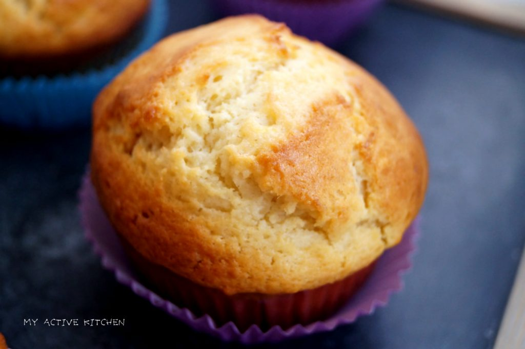 plantain and peanut muffin