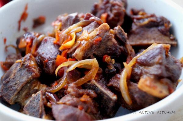 Nigerian asun recipe.