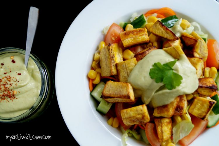 plantain salad recipe