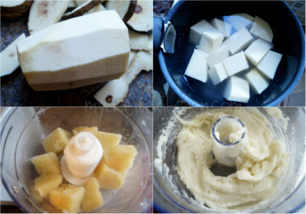 pounded yam using food processor