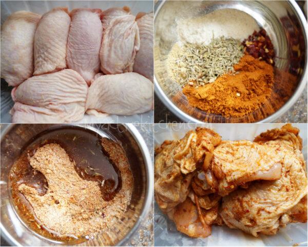 spiced chicken