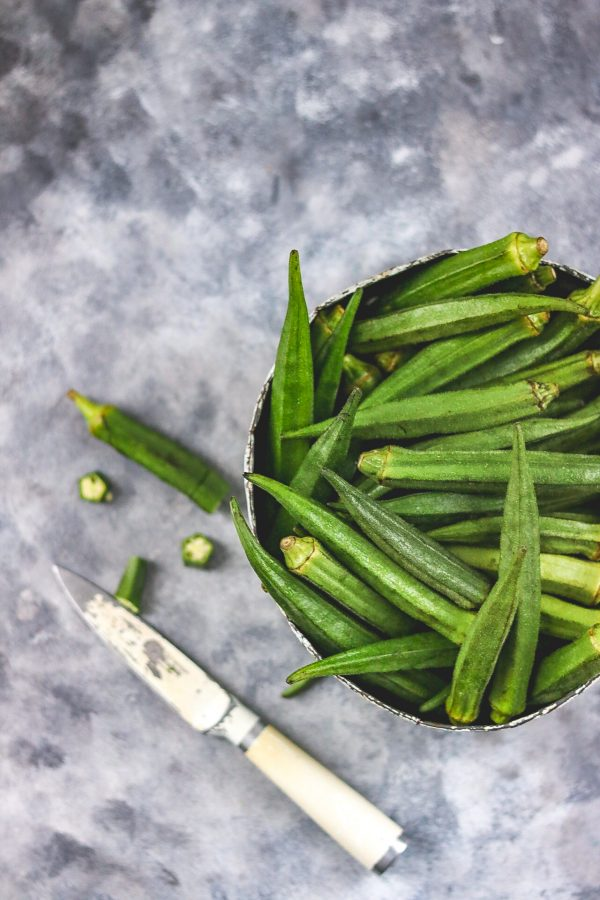 image of fresh okra