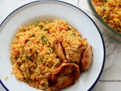 how to make vegetable couscous