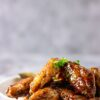 crispy and sticky asian chicken wings! this is an all rounder chicken recipe for all occasions, coated in honey, garlic and soy sauce, this sticky chicken wings is very easy to make too. www.myactivekitchen.com