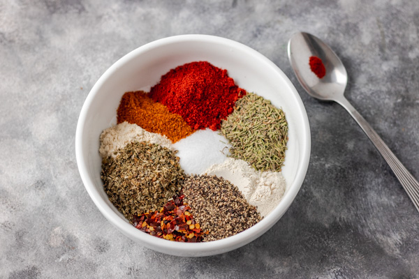 homemase spice seasoning in a bowl