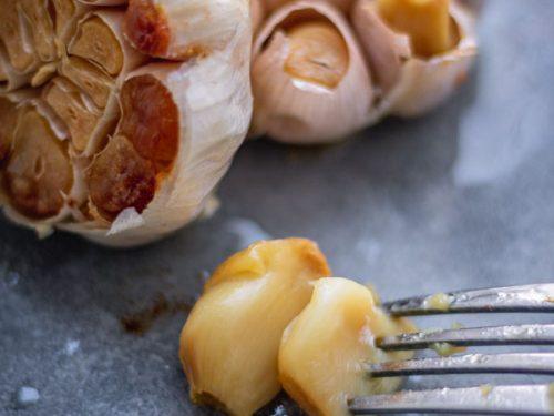 Oven Roasted garlic.