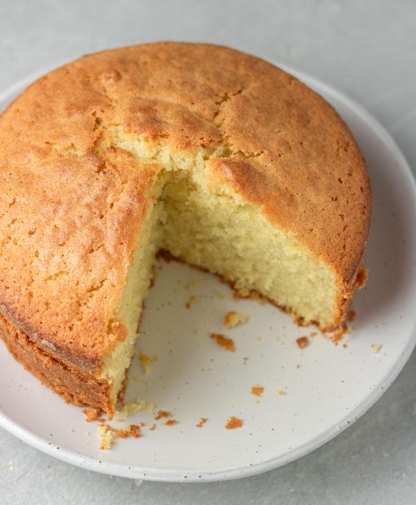 Easy Vanilla Sponge Cake Recipe My Active Kitchen